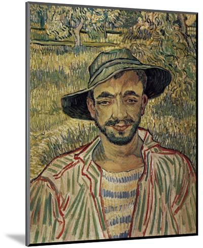 Portrait of a Famer-Vincent van Gogh-Mounted Art Print