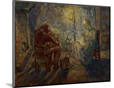 Night-Vincent van Gogh-Mounted Giclee Print