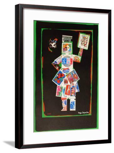 Exposition philatelique-Roger Bezombes-Framed Art Print