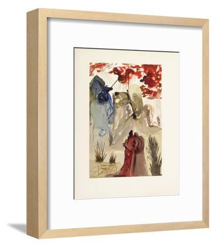 Divine Comedie, Purgatoire 28: La divine foret-Salvador Dal?-Framed Art Print