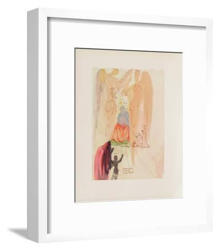 Divine Comedie, Paradis 23: Le triomphe du Christ-Salvador Dal?-Framed Art Print
