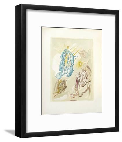 Divine Comedie, Paradis 26: Dante recouvre la vue-Salvador Dal?-Framed Art Print