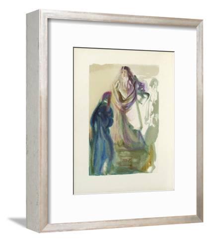 Divine Comedie, Paradis 28: La marche vers Dieu-Salvador Dal?-Framed Art Print