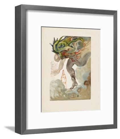 Divine Comedie, Enfer 31: Les Geants-Salvador Dal?-Framed Art Print