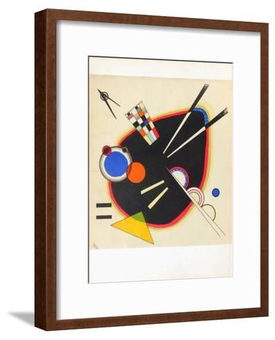 Composition II-Wassily Kandinsky-Framed Art Print