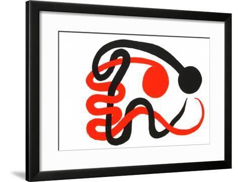 Composition III-Alexander Calder-Framed Art Print