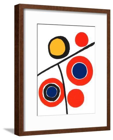 Composition IV-Alexander Calder-Framed Art Print