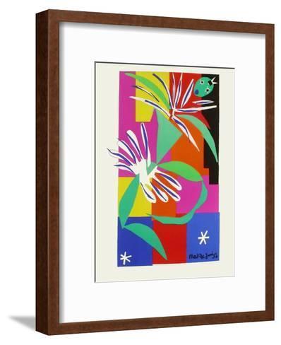 Verve - Danseuse creole-Henri Matisse-Framed Art Print