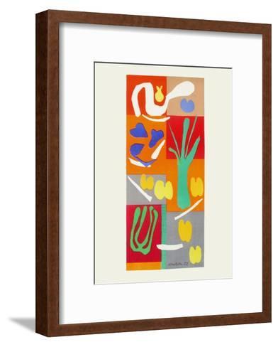 Verve - Vegetaux-Henri Matisse-Framed Art Print