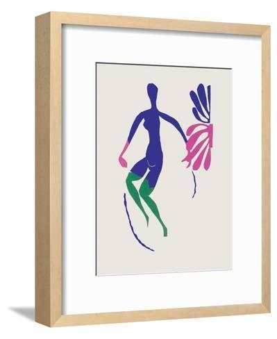 Verve - Nu bleu III-Henri Matisse-Framed Art Print