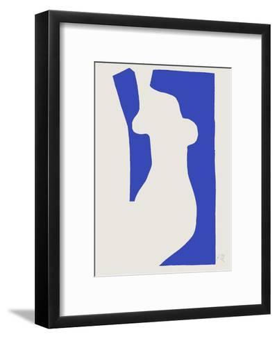 Verve - Nu bleu V-Henri Matisse-Framed Art Print