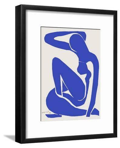 Verve - Nu bleu VIII-Henri Matisse-Framed Art Print