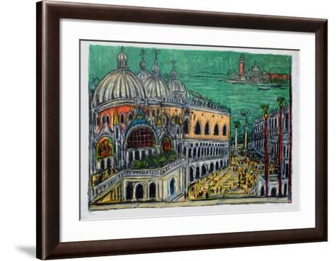 Le Palais de Doges-Andr? Cottavoz-Framed Art Print