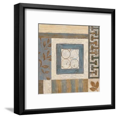 Abstract Plan II-Eugene Tava-Framed Art Print