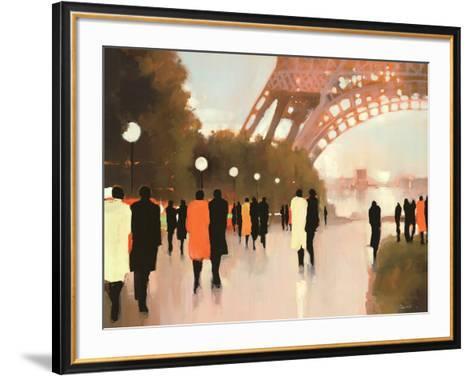 Paris Remembered-Lorraine Christie-Framed Art Print