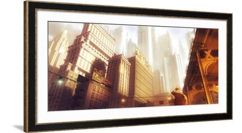 Leaving the Fifties-St?phane Belin-Framed Art Print