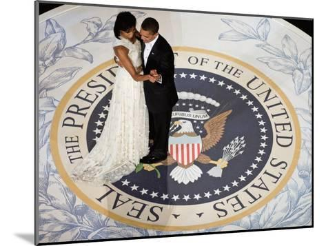 President Obama and the First Lady--Mounted Art Print
