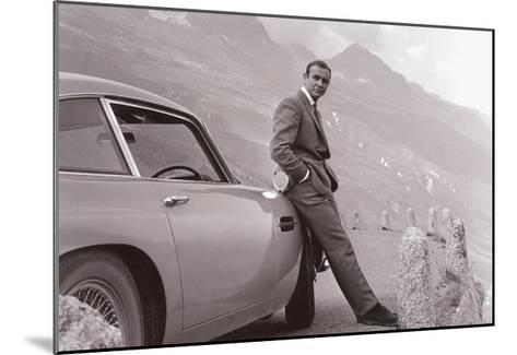James Bond: Aston Martin--Mounted Art Print