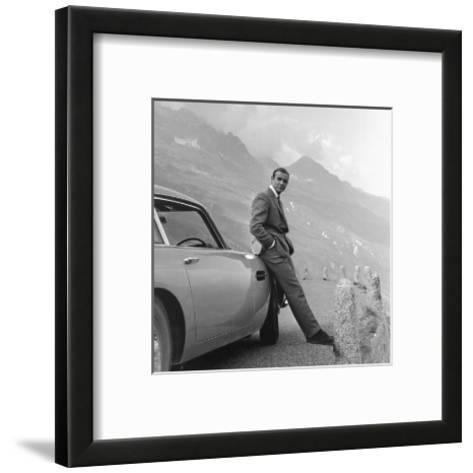 James Bond: Aston Martin--Framed Art Print