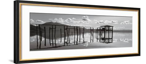 Reflections, Clear Lake-Marty Knapp-Framed Art Print
