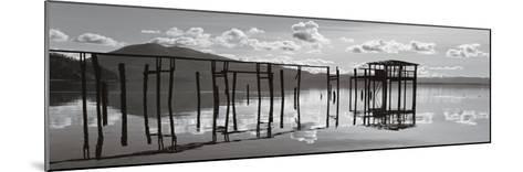 Reflections, Clear Lake-Marty Knapp-Mounted Art Print