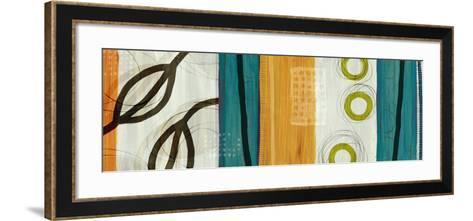 Twists and Turns I-Yuko Lau-Framed Art Print