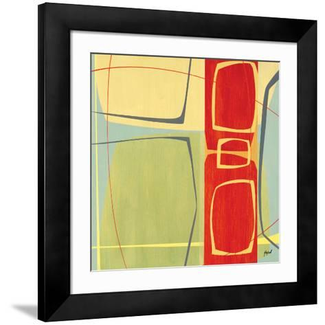 Concentric II-Danielle Hafod-Framed Art Print