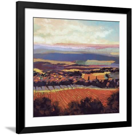 Tuscan Sunrise-Dennis Rhoades-Framed Art Print