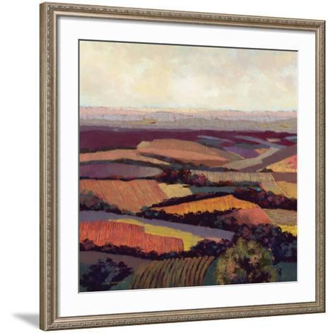 Tuscan Vista-Dennis Rhoades-Framed Art Print