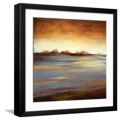 Stewart Lake at Dawn I-C^W^ Scott-Framed Art Print