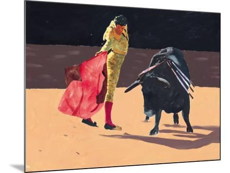 Toreador II-Irene Celic-Mounted Art Print