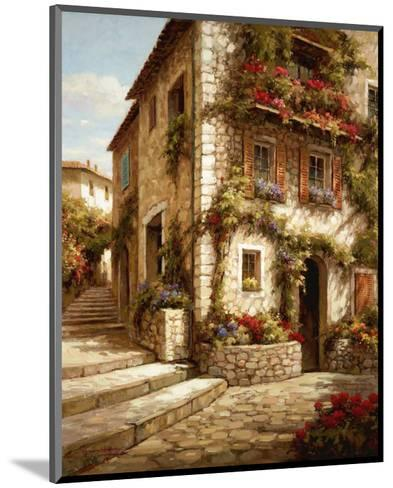 Afternoon Sun on the Steps-Steven Harvey-Mounted Art Print