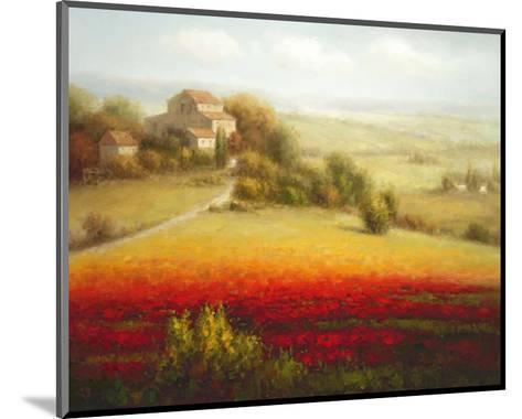 Fields of Red and Gold I-Eugene Laporte-Mounted Art Print