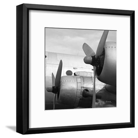 Vintage Flight I-Janet Van Arsdale-Framed Art Print