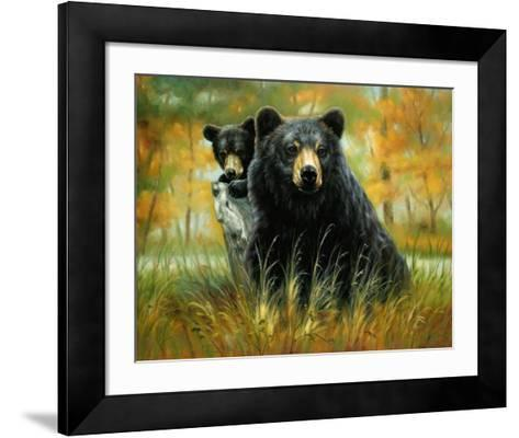 Mother and Cub-H^ Kendrick-Framed Art Print