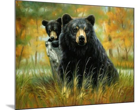 Mother and Cub-H^ Kendrick-Mounted Art Print