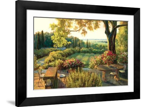 Summer Soliloquy-K^i^ Jun-Framed Art Print