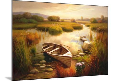 Waiting for You-Barry Russell-Mounted Art Print