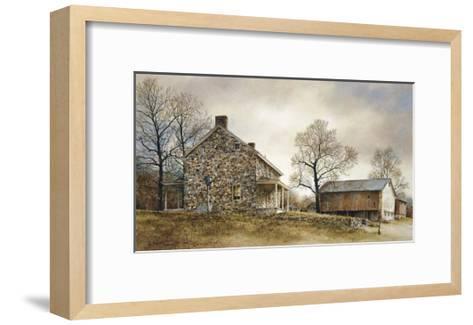 A Pennsylvania Morning-Ray Hendershot-Framed Art Print