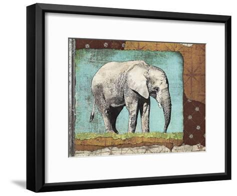 Elephant-Gwena?lle Trolez-Framed Art Print