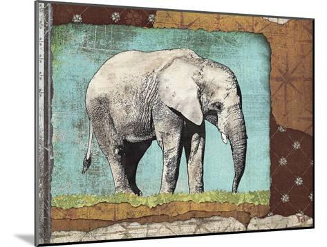 Elephant-Gwena?lle Trolez-Mounted Art Print