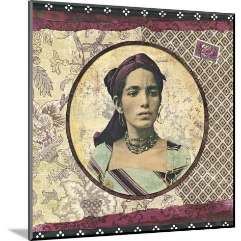 Femme Kabyle-Gwena?lle Trolez-Mounted Art Print