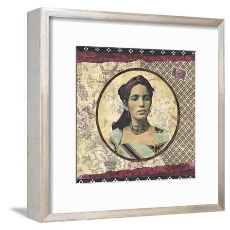 Femme Kabyle-Gwena?lle Trolez-Framed Art Print
