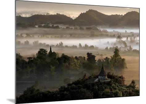 Burma's Oldest Town-Maurice Subervie-Mounted Art Print