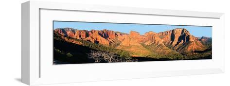 Zion National Park, Kolob Canyons-James Blakeway-Framed Art Print