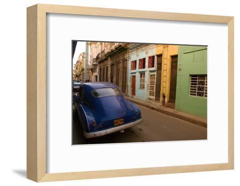 Back Street Cuba-Charles Glover-Framed Art Print