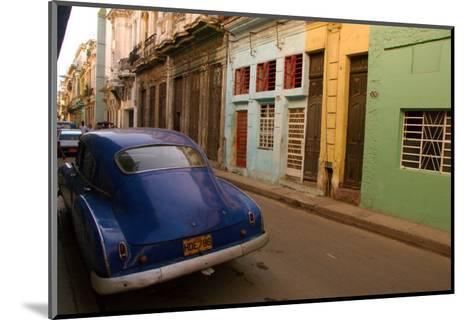 Back Street Cuba-Charles Glover-Mounted Giclee Print
