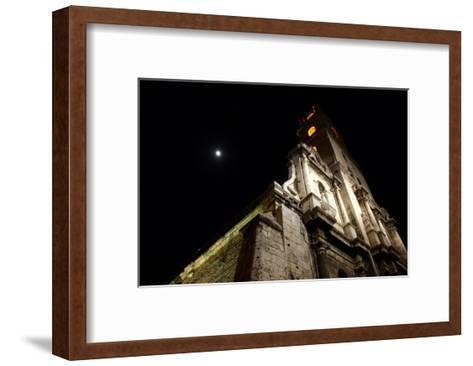 Moonlit Church-Charles Glover-Framed Art Print