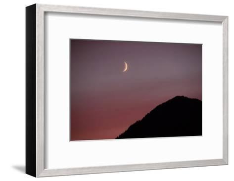 Purple Mountain Moon-Charles Glover-Framed Art Print