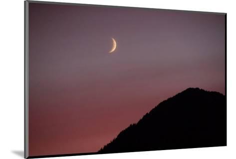 Purple Mountain Moon-Charles Glover-Mounted Giclee Print
